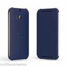 HTC Flip Case for HTC One (M8) Cell Phones - Imperial Blue