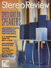 Stereo Review Mag Sep 1994 California Audio DX-1,M&K S-90,Proton AA-2120,Sony MD