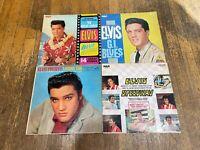 Elvis Presley 4 LP Lot - Blue Hawaii, GI Blues, Loving You, Speedway Soundtrack