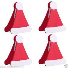Decoración y menaje color principal rojo para mesas de Navidad