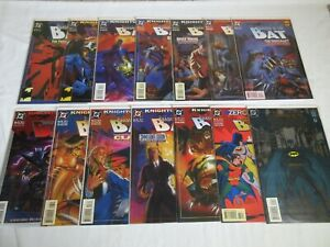 Batman Shadow of the Bat LOT OF 14 #10, 19-29, 31 and 35 COMPLETE STORY SET RUNS