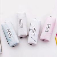 Zipper Box School Supplies Makeup Bag Travel Case Storage Purse Pencil Case