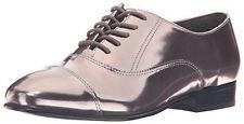 Ivanka Trump Women's Olie Oxford Pewter Leather Size 8 M US Retail $140