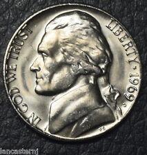 1969-D BU 5C Jefferson Nickel  Free Shipping Satisfaction Guaranteed XB2