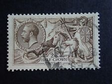 2s6d USED GEORGE V SEAHORSE - UNKNOWN COLOUR OR PRINTER - REF Z12