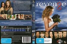 REVENGE-the complete Season 3-Region 4-New AND Sealed-6 Discs Set