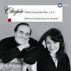 Martha Argerich/Charles Dutoit - Chopin: Piano Concertos Nos. 1 & 2 (NEW CD)