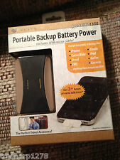 Revolve Portable Backup Battery USB iPhone ipod ipad EVO Droid Kindle