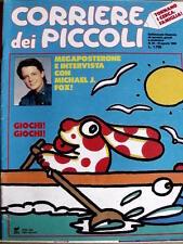 Corriere dei Piccoli 33 1989 Milly un giorno dopo l'altro - La Pimpa