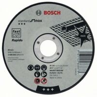 """Bosch 115mm (4.5"""") x 22.23 x 1mm Thin Metal Inox Fast Cutting Disc - QTY 2 DISCS"""