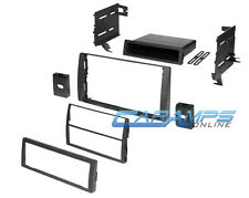 CAMRY CAR STEREO RADIO DASH INSTALL MOUNTING KIT DASH DOUBLE DIN INSTALLATION