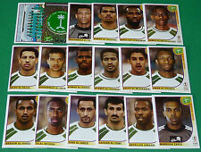 PANINI FOOTBALL JAPAN KOREA 2002 COUPE MONDE FIFA ARABIE SAOUDITE SAUDI ARABIA