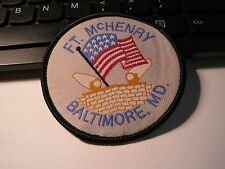"Vintage EmbApp Souvenir Patch - Ft. McHenry 3""  Buy 1 Get 1 Free"
