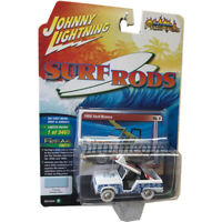 JOHNNY LIGHTNING JLCP7102 SURF RODS 1966 FORD BRONCO 1/64 WHITE Chase