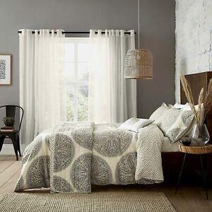 Sanderson Paisley Circles Duvet Cover, Cushion or Throw in Linden & Saffron