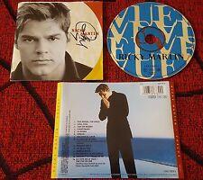 RICKY MARTIN **Vuelve** EUROPEAN COVER CD 1998 *SIGNED!!!*** MENUDO Carlos Baute