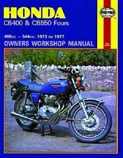 HAYNES SERVICE MANUAL HONDA CB400 CB550 1973 1974 1975 1976 1977 F F1 K