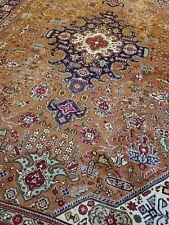 New listing 8 x 11.2 Vintage Fine Caucasian Heriz Antique Serapi Oushak Kazak Shirvan