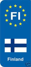 2 Stickers Europe Finland  FI