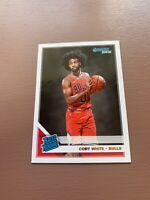 COBY WHITE RC - 2019-20 DONRUSS - RATED ROOKIE BASE - CARD #206