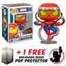 FUNKO POP MARVEL SPIDER-MAN OCTO-SPIDEY EXCLUSIVE + FREE POP PROTECTOR