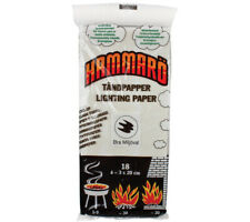 Hammaro Lighting Paper Tinder Cards for Camping Survival Charcoal Fire Starter