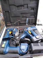 Power Craft Jigsaw Cordless Drill Flashlight Cordless Angle Grinder 18V tool set