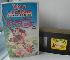 Chip 'N' Dale Rescue Rangers  -  Romancing The Clone  -  Disney  VHS  Video