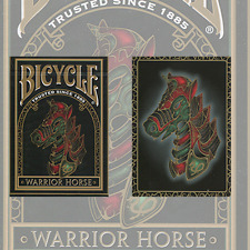 Bicycle Warrior Horse Playing Cards Deck by USPCC and Murphy's Magic