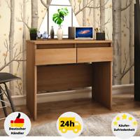 Schreibtisch Computertisch Holz Bürotisch Büromöbel Arbeitstisch mit Schubladen
