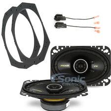 "KICKER CS46 100W 4"" x 6"" Coaxial Car Speaker Solution for 1997-06 Jeep Wrangler"