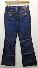 Limited Too Girl's Junior Distressed Flare Super Low Jeans Pants Size 14R NWT