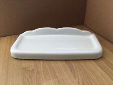 Toilet Cistern Lid = Doulton Caradon QL-2109, 467mm x 202mm. White,  R-606