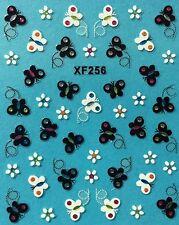 Nail Art 3D Decal Stickers Butterfly Butterflies XF256