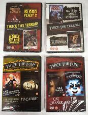 4 x Movies DVD Collection Horror + Other - New and Sealed