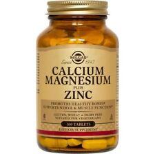 Calcium/Magnesium/Zinc Solgar 100 Tabs