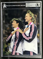 MISTY MAY USA 3X GOLD MEDAL WINNER HOF AUTOGRAPHED SIGNED 8X10 PHOTO BECKETT BAS