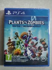 Plants VS Zombies Battle For Neighborville PS4 NEUF BLISTER LIVRAISON RAPIDE VF