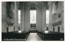 AK aus Wiener Neustadt, Georgskirche, Niederösterreich  (D24)