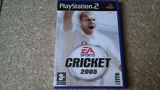 EA SPORTS CRICKET 2005 (PS2) USED