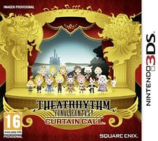 Theatrhythm Final Fantasy Curtain Call 3DS Nintendo Video Juego Perfecto Estado