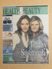 TRINNY AND SUSANNAH Health & Beauty June 1, 2007 ARTICLE ONLY (SPN) (2)