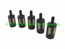 5X FUEL TANK FILTER FITS 2MM 2.5MM 3MM CHAINSAW STRIMMER HEDGE TRIMMER LAWNMOWER