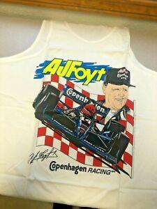 AJ Foyt Racing Garage Sale- AJ Foyt Indy 500 COPENHAGEN IndyCar Tank Top