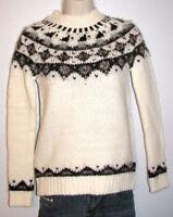 Ann Taylor Loft Petites Women's Icelandic Winter White Pullover Sweater Size PXS