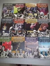 The Walking Dead Volumes #2 thru #13 paperback Comic horror/zombies Kirkland+