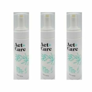 3 x Act+Care 200ml Foaming Hand Wash With Natural Tea Tree Oil (600ml)