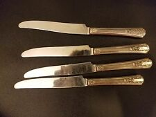 Wm A Rogers Sectional Oneida Lido Dinner Knife set of 4
