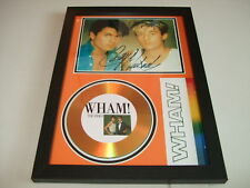 WHAM   SIGNED GOLD CD  DISC  43