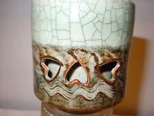 SOMA-YAKI (WARE) MATSUNAGA-KAMA (KILN ) DOUBLE LAYERED TEA CUP